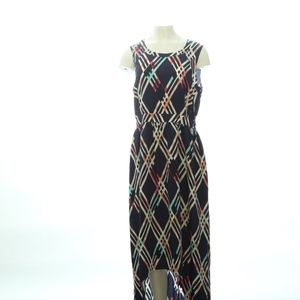 Maeve Female Maxi Dress Large Dress Geometric